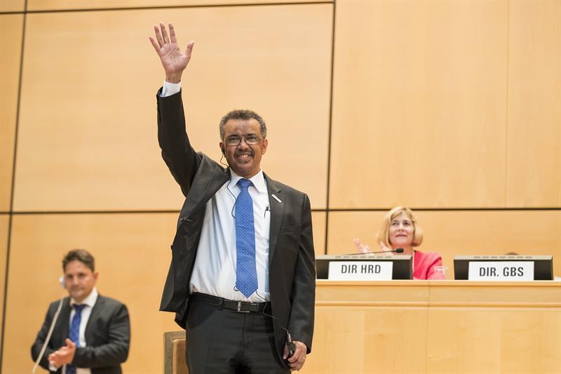 El etíope Tedros Adhanom Ghebreyesus, elegido director general de la OMS